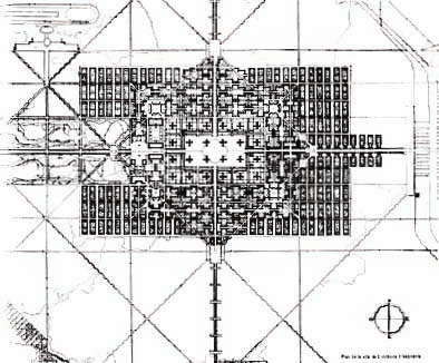 Ville Radieuse (1924), a city designed from Le Corbusier