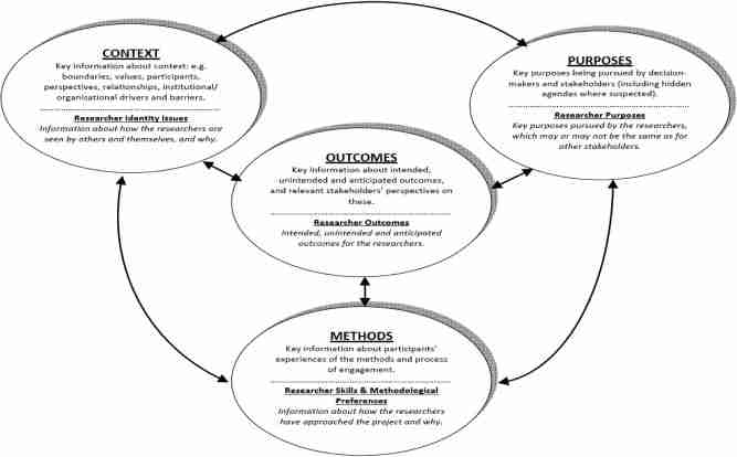 Conceptual framework for the evaluation of systemic