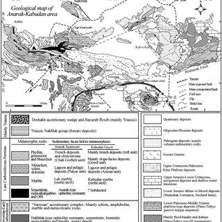 Main tectono-stratigraphic units of Caucasus, Iran and