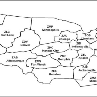 1 Air Traffic Control Centers in the USA (Photo obtained