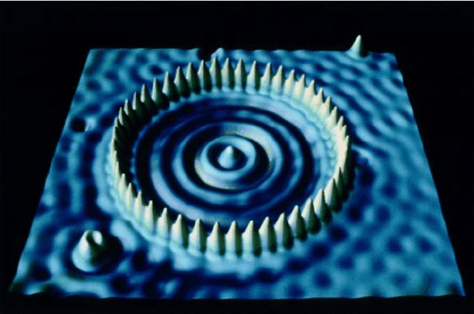 color stm image of