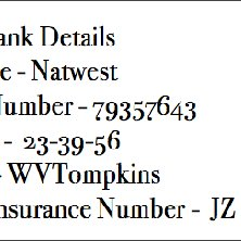 An Example Of Fake Banking Details That We Hid In English Honey Accounts Download Scientific Diagram