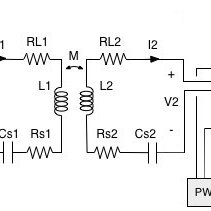 Equivalent circuit of magnetic resonance wireless power