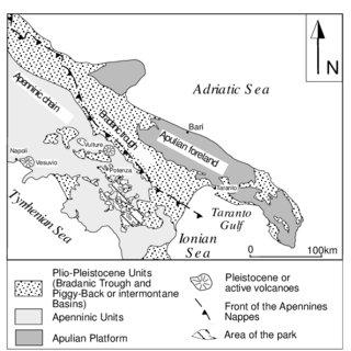 Mesozoic rock column in the border region of Austria and