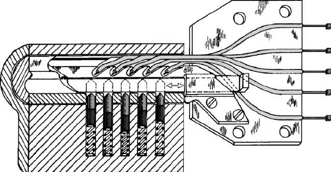 "S. A. Bitzios's 1991 design for a ""Sputnik"" decoder-pick"