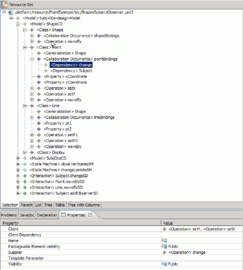 small resolution of 5 example of a class diagram as shown with uml2