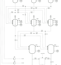 piping and instrumentation diagram of the demonstration plant [ 850 x 1181 Pixel ]