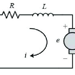 Electrical armature circuit and rotational mechanical