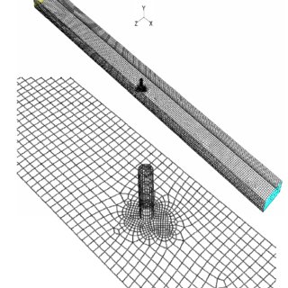 The geometry and dimensions of a standard-stub abutment