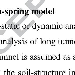 (PDF) Seismic Analysis of Long Tunnels: A...