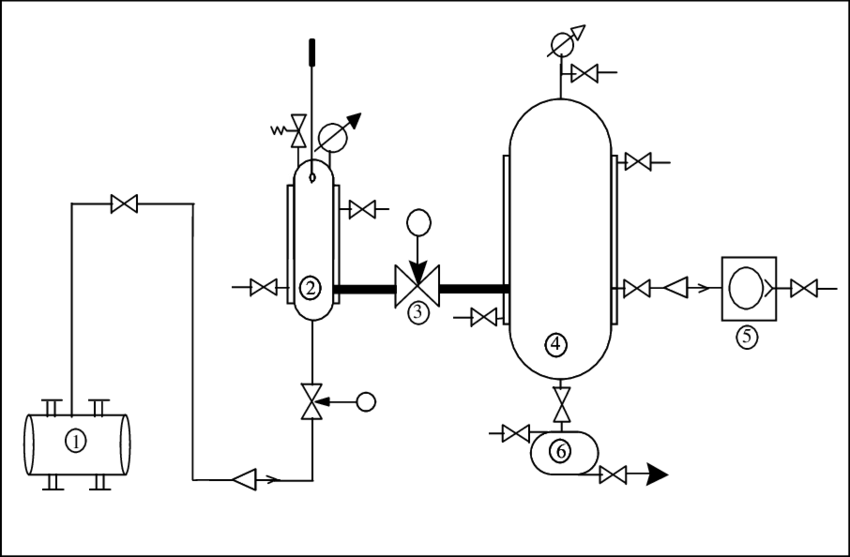 Schematic diagram of the apparatus used for the extraction
