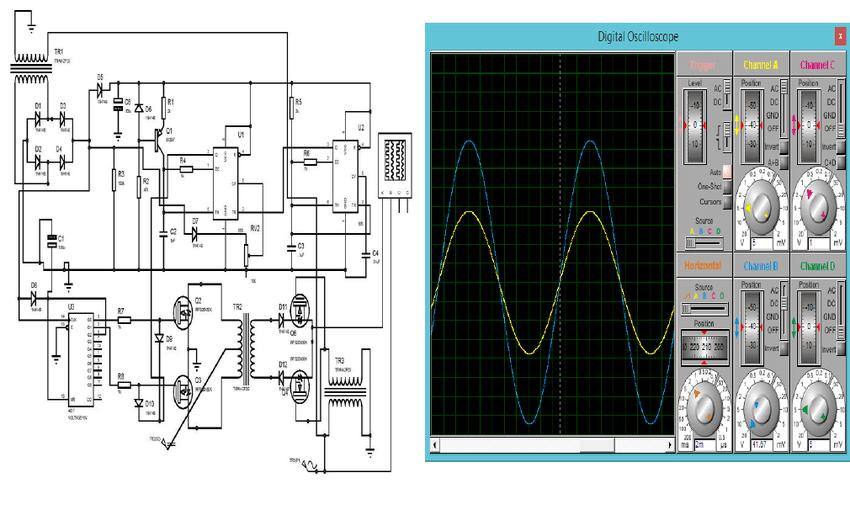 grid tie inverter circuit diagram mercedes sprinter abs wiring schematic of tied download scientific