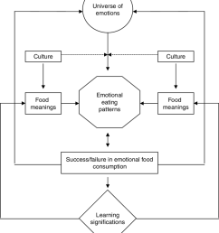 a general framework model for analyzing emotional eating in different cultures [ 850 x 1014 Pixel ]
