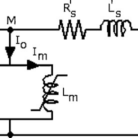 Equivalent circuit of the single-phase transformer