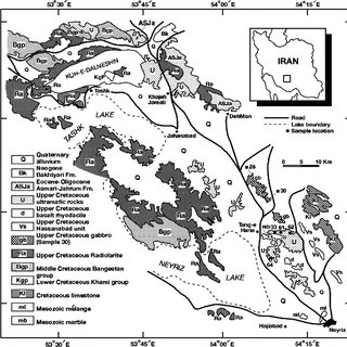 (PDF) Tectonic evolution of the Neyriz ophiolite, Iran