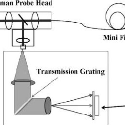 Optical configuration of the FirstDefender TruScan Raman