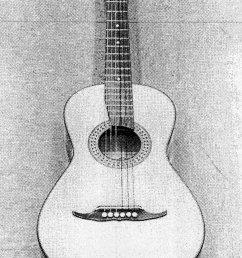 acoustic guitar diagram [ 850 x 1289 Pixel ]