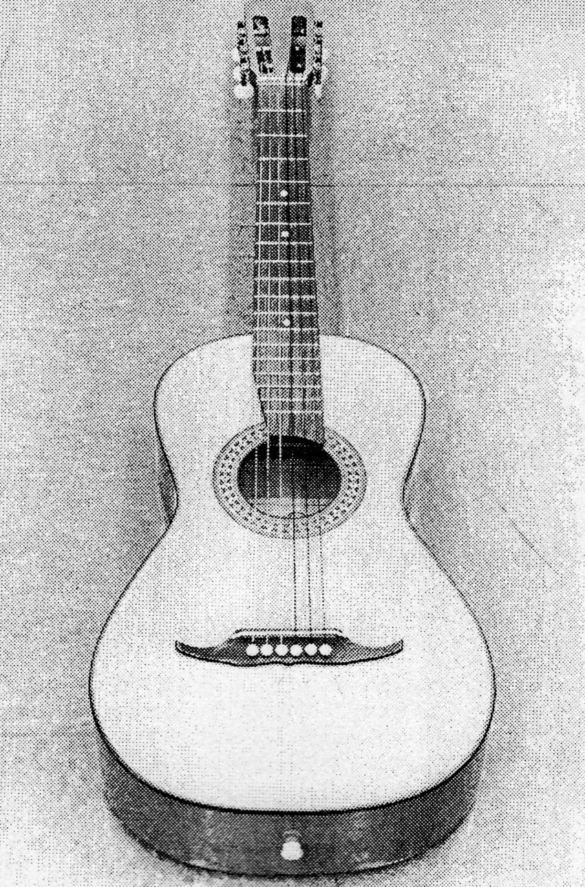 hight resolution of acoustic guitar diagram