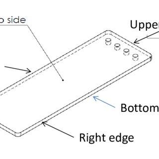 Examples of microfluidics using the microscope slide