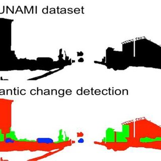 tsunami diagram with labels electrolux wiring refrigerator original annotation in the dataset 4 top and semantic change detection