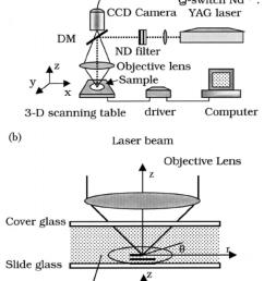 laser microfabrication system a block diagram of setups dm dichroic mirror [ 850 x 1152 Pixel ]