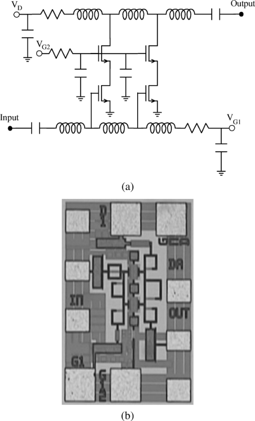 small resolution of  a simplified schematic of the vga b chip photograph of the