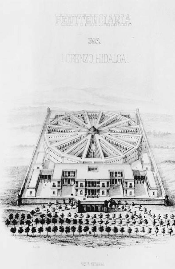 Penitenciaría General de la ciudad de México, arquitecto