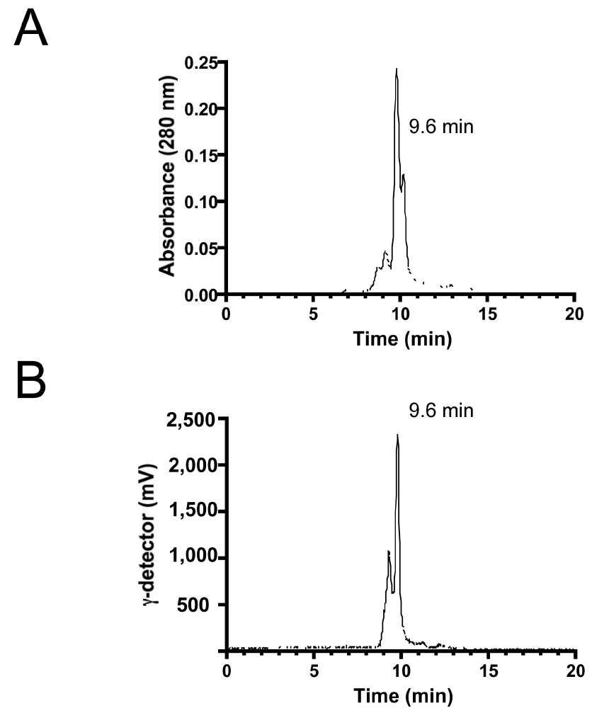 Purification and Stability of [ 99m Tc-MAS 3 ]-SDF-1 α