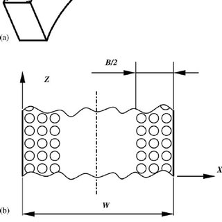 Partial LST flat face piston ring: (a) schematic of a