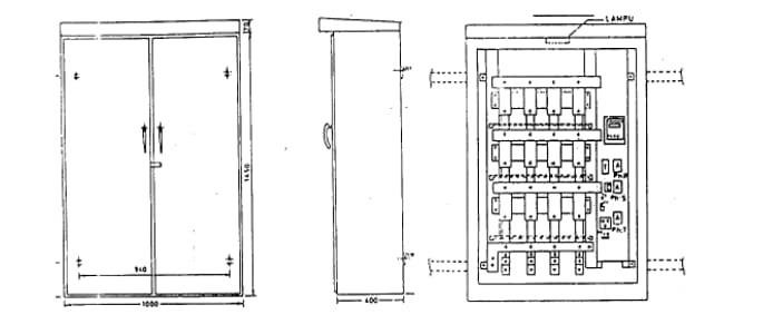 1 PHB-TR cabinet type Then continued by 2 Wiring diagram
