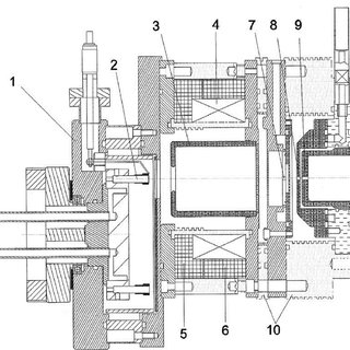 Cyclotron component layout (see also Figure 18