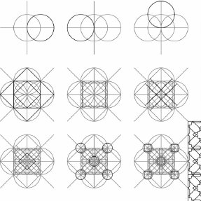 Compass and ruler construction of an Islamic geometric