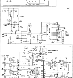 control card circuit diagram a radio frequency pulse code for this control circuit presented in this schematic the frequencies [ 850 x 1285 Pixel ]