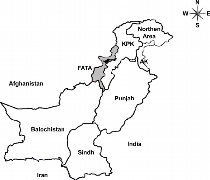 Geographical location of sample collection site (Orakzai