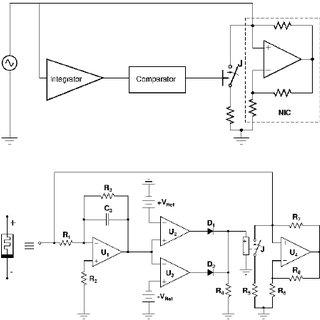 (a) Block diagram for a memristor based on basic