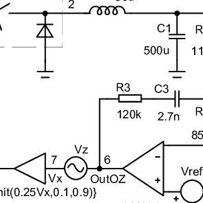 Fundamental circuit diagrams of DC-DC converters, types