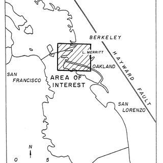 Portion of the 1899 U.S.G.S San Francisco Quadrangle (1