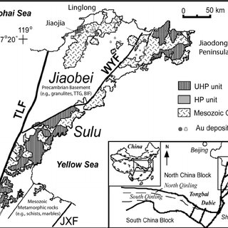 a: Simplified geological map of the Cuddaph basin