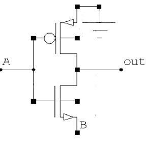 (a): Domino logic XOR gate (b) Domino logic AND gate 3.8