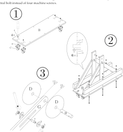 drawings illustrating steps 1 3 in the assembly instructions step the following diagram illustrates the model of the trebuchet to use [ 768 x 1051 Pixel ]