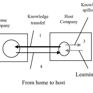 Social network analysis diagram of the international