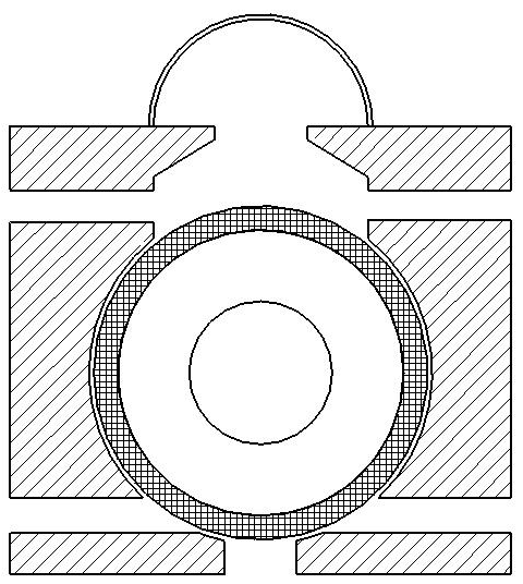 SCHEMATIC OF THE COUNTER-ROTATING-RING RECEIVER/REACTOR