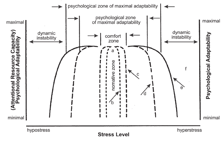 Hancock and Warm's [13] extended-U model of stress and