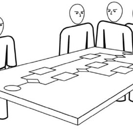 Unintentional non-verbal communication in collaborative