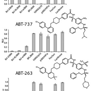 (a) Inhibition profile of BH3I-1 (100 μM) against the PPI