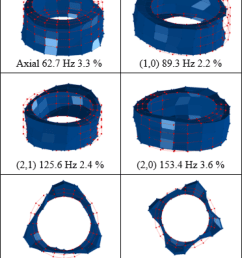experimental mode shapes of the tire place in a fixed condition  [ 850 x 1713 Pixel ]