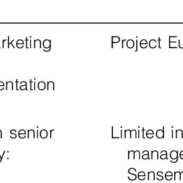 (PDF) Senior Managers' Sensemaking and Responses to