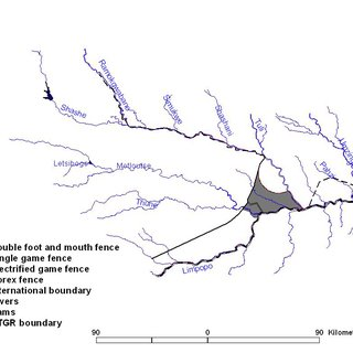 Land use within the Central Limpopo River Valley study