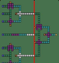 4 to 1 multiplexer circuit s layout  [ 850 x 1099 Pixel ]
