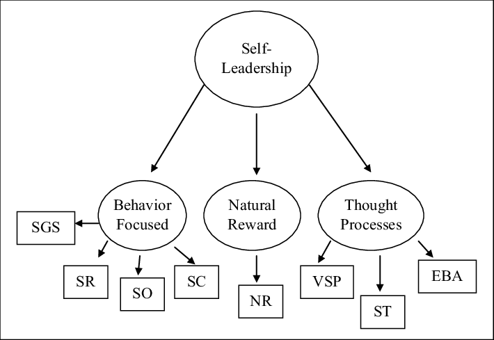 A hierarchical structure model of self-leadership. EBA